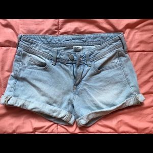 H&M mom-jean style shorts